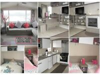 TO RENT FAMILY OWNED 3 BED SWIFT SOLIEL CARAVAN @ NEWTON HALL BLACKPOOL
