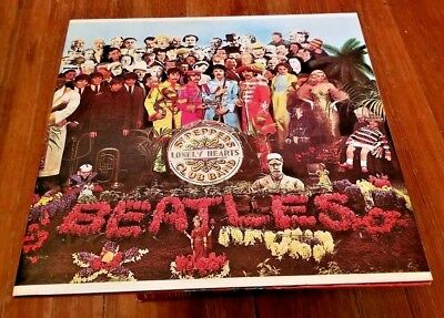 The Beatles Sgt. Peppers Lonely Hearts Club Band Capitol purple label SMAS1-2653