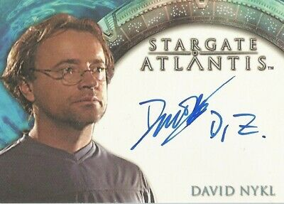 "Stargate Atlantis Season 1 - David Nykl ""Dr Radek Zelenka"" Autograph Card"