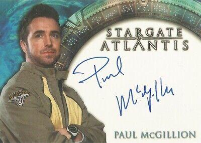 "Stargate Atlantis Season 1 - Paul McGillion ""Dr Carson Beckett"" Autograph Card"