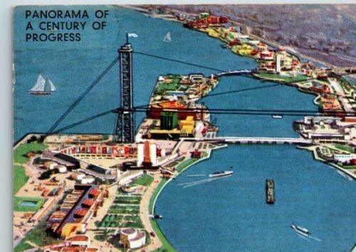 1933 Century Of Progress Postcard Chicago ~ Bird
