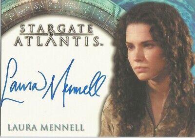 "Stargate Atlantis Season 1 - Laura Mennell ""Sanir"" Autograph Card"