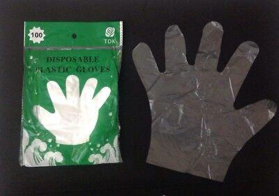 600 Disposable Plastic Gloves-sanitary Restaurant Home Dishwashing Bbq Gloves