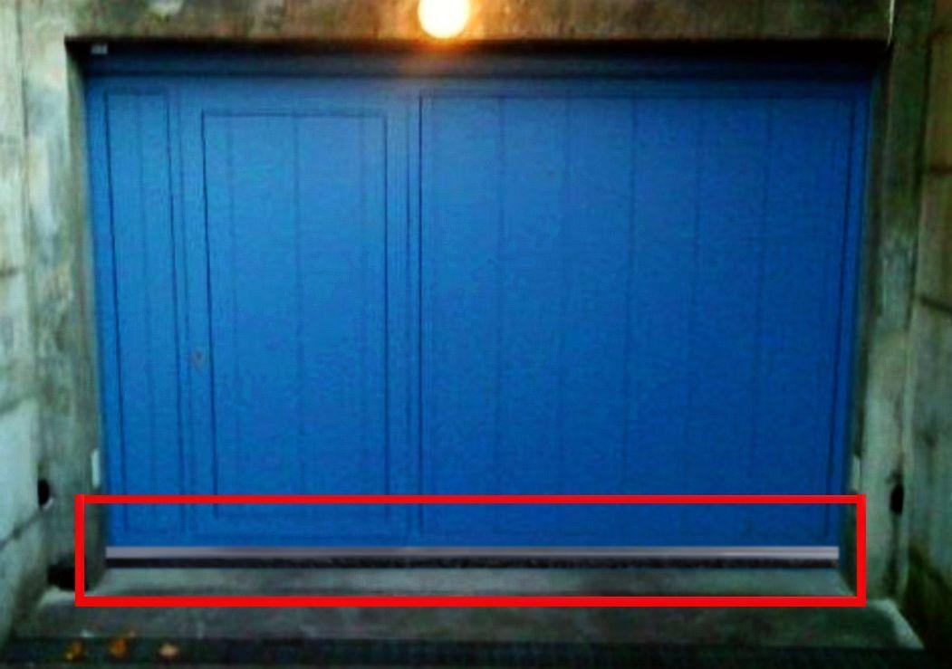 6 x 1 20 m garagentor b rstendichtung inox rostfrei mit wetterfestem pp besatz eur 99 90. Black Bedroom Furniture Sets. Home Design Ideas