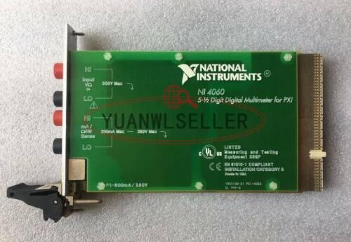 1PCS NI PXI-4060 Digital Multimeter Card 5-1/2 Digit USED