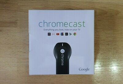 Google Chromecast - 1st Generation H2G2-42 - Media Streaming Device - Brand New