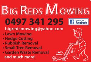BIG REDS MOWING Port Macquarie Port Macquarie City Preview