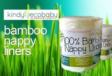 Bamboo Nappy Liners, wet wipes, cloth nappies, free fast shipping Indooroopilly Brisbane South West Preview