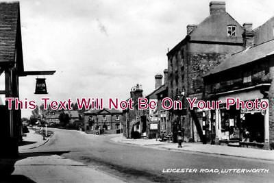 LC 207 - Leicester Road, Lutterworth, Leicestershire - 6x4 Photo