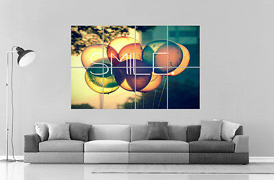 S Wall Art Poster Grand format A0 Large (Vintage-ballons)