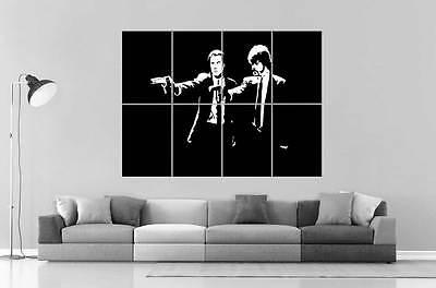 Pulp Fiction Cult Scene John Travolta   Samuel Jackson Poster Great Format A0