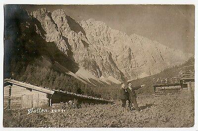 Stallen-Alm, Stans, Karwendel, Vomp, Schwaz, Bergsteiger,  1920