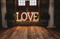 LOVE marquee letters sign for rent