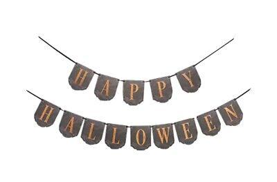 Martha Stewart Happy Halloween Diecut Garland Set Of Three Happy Halloween