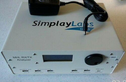 Simplay Labs Tools SL-860 MHL/TX Analyzer