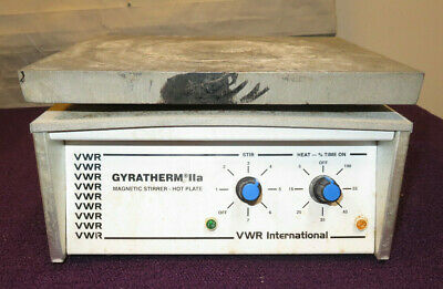 Vwr Gyratherm Iia Magnetic Stirrer-hot Plate 115vac - Used
