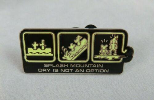 Disney WDW Pin - Ride Series - Splash Mountain - Dry Is Not An Option