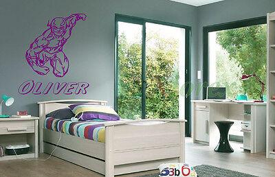 FLASH superhero /Avengers/Marvel-Personalized Wall Art Sticker Decal SUPER - Personalized Stickers Cheap