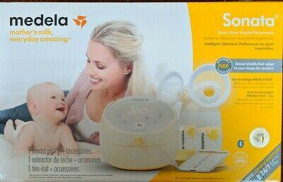 Medela Sonata Smart Breast Pump with PersonalFit Flex Breast Shields - New! (CR)