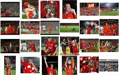 24x photographs liverpool lfc v milan 2005 champions league final 2 istanbul 6x4