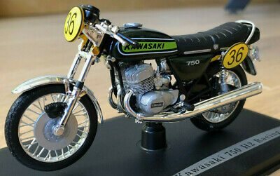 Kawasaki 750 H2 Racing solido 84005 1:18