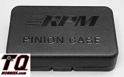 Rpm 80412 Black Pinion Gear Carrying Case For Associated Traxxas Hpi Losi