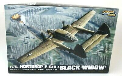"G.W.H Northrop P-61A ""Black Widow"" 1:48 Scale Plastic Model Kit P/N: L4802 for sale  Williston Park"