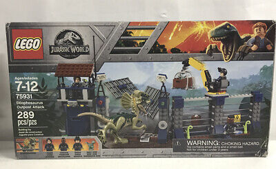 LEGO Jurassic Park World - Dilophosaurus Outpost Attack 75931 - New & Sealed HTF
