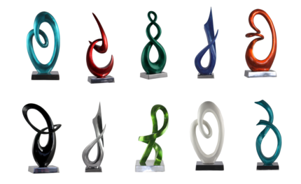 Handcrafted Modern Abstract & Contemporary Sculptures | Aluminium