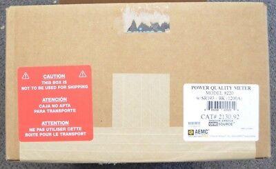 Aemc 2130.92 8220 Single-phase Ac Dc Power Quality Analyzer W Sr193-bk