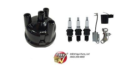 Ignition Tune Up Kit 3 Cyl Ford 2000 3000 4000 4600 4610 3610 540 555 Tractor