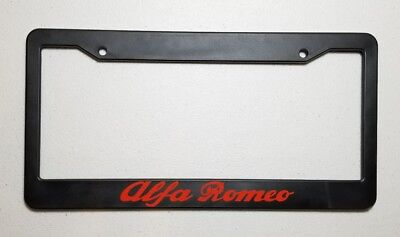 ALFA ROMEO License Plate Frame (choose logo color )
