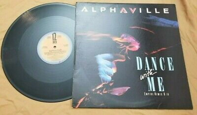 Alphaville / Dance With Me & The Nelson Highrise Sector 2 (1986)-Vinyl LP Record