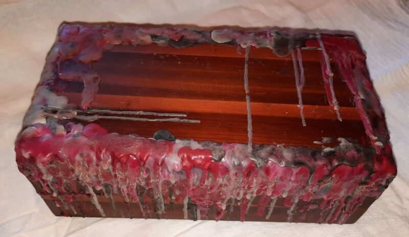 Haunted Dybbuk Box Sealed with Content Old Cedar Wood