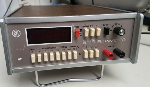 RFL 916 FLUXMETER MAGNETIC INSTRUMENTATION