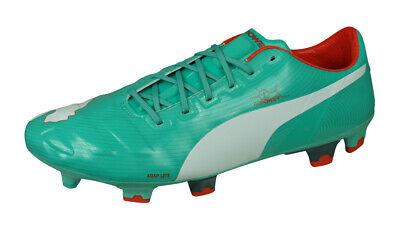 Puma evoPOWER 1 FG Mens Football Boots Soccer Shoes Grass 4G 3G Green
