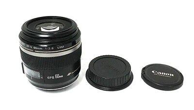 Canon EF-S 60mm 1:2.8 USM Ultrasonic Macro Lens