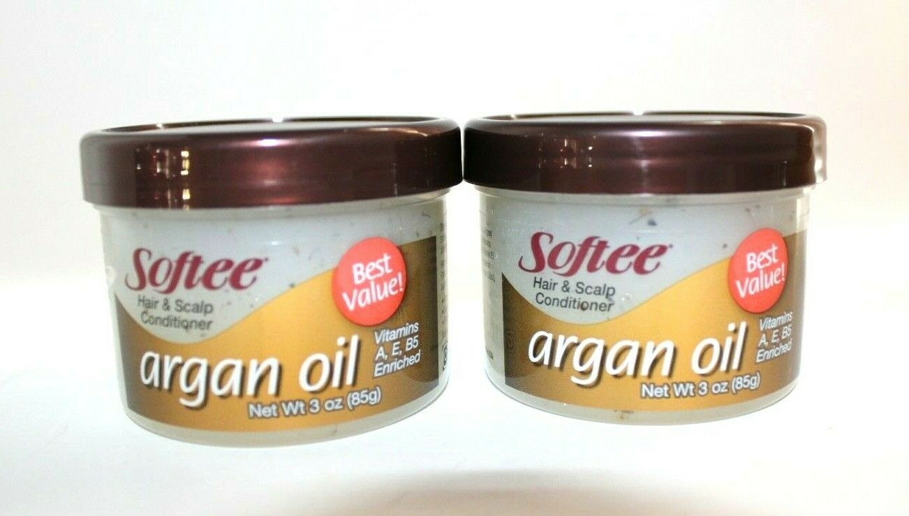 Argan Oil Hair and Scalp Conditioner 3 oz By Softee FREE SHI