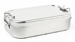 Brotbox - Brotdose   Vesperbox Lunchbox aus Metall   Vesperdose * Brotbüchse ///