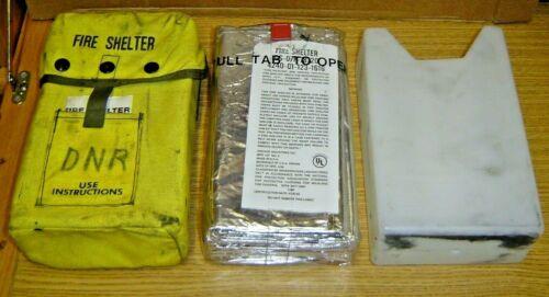 Emergency Fire Shelter Firefighter Belt Clips New NOS