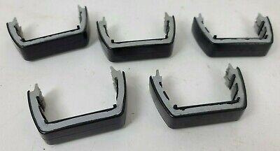 Lot Of 5 Black Whelen Lfl Edge Strobe Led Light Bar Lens Divider