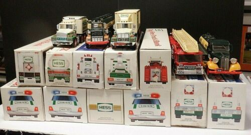 Hess Advertisement Truck Lot of 15 1990 2000 1993 1995