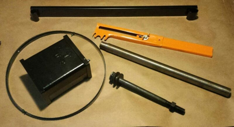 "Riser Block kit or Height attachment Delta 14"" Bandsaw w/1"" round post Delta 894"