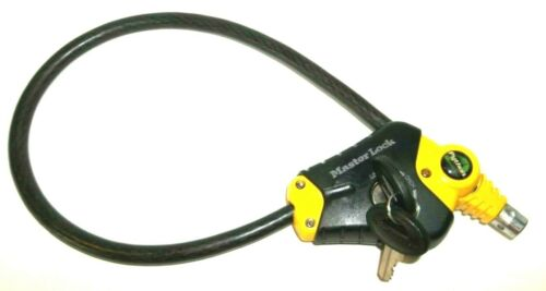 """Master Lock Python Cable Lock Adjustable 24"""" ,, 2 Foot Cable"""