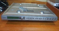 SONY ICF-CD553RM Under Cabinet CD Player Radio Weather AM/FM