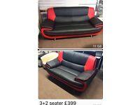 new matching retro look sofas