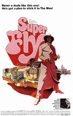 SUPER FLY - CLASSIC MOVIE POSTER 24x36 - 52171