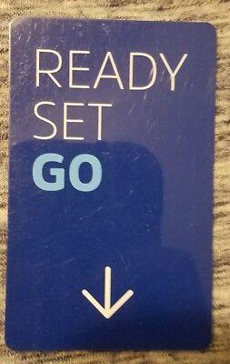 Holiday Inn Express Hotel Room Key Card  Ready Set Go  Swipe