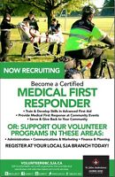 Become a Certified Medical First Responder