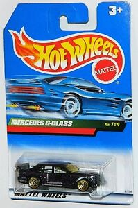 Hot Wheels 1/64 Mercedes C-Class Diecast Car Purple